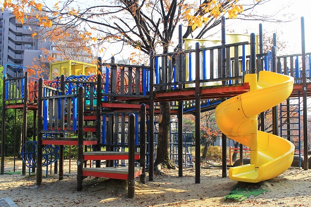 野畑南公園へ行ってきた! 大型遊具とロングすべり台が魅力的!