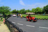 矢橋帰帆島公園へ行ってきた! おもしろ自転車が楽しめる公園!