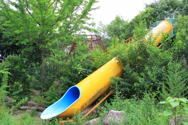 ひばり公園へ行ってきた! 東近江市のアスレチック大型遊具
